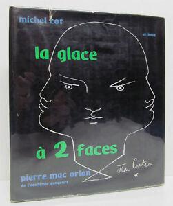 MICHEL-COT-La-Glace-a-2-Faces-PIERRE-MAC-ORLAN-1ST-EDITION-Arthaud-HCDJ-1957