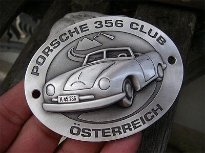 PORSCHE 356 No. 1 - Knickscheibe - K45.286 - CLUB AUSTRIA pre-A Cabriolet Badge