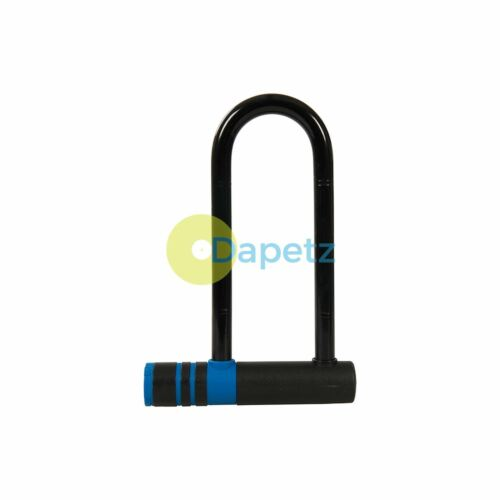 Bicycle U-Lock Tough Casing /& Plastic Coating Protects Paint Finish 145 X 210mm