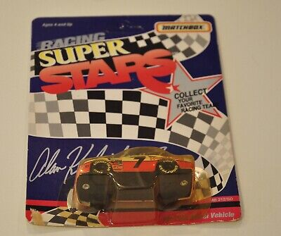 Matchbox NASCAR Racing Super Stars Hooters #7 Alan Kulwicki Ford Thunderbird