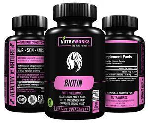 BIOTIN-Extra-Strength-10-000-mcg-Supports-Healthy-Hair-Skin-Nails-60-VEGGIE-CAPS