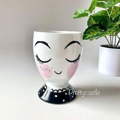 new target threshold girl face porcelain planter pencil