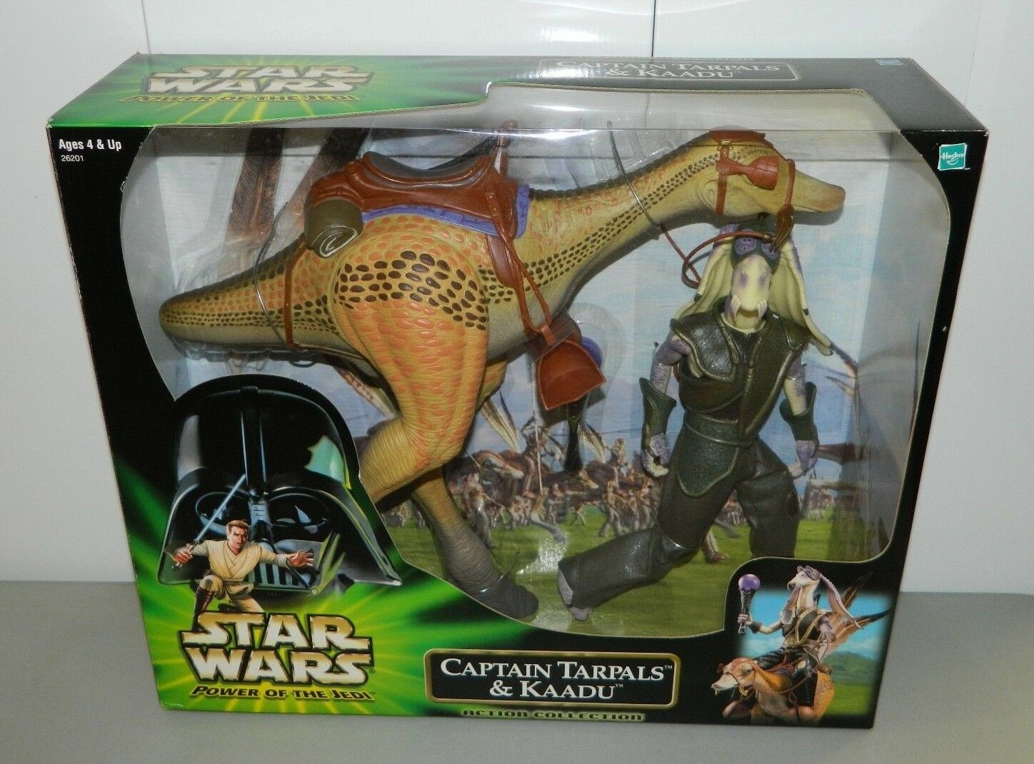 New in Box Star Wars Power of the Jedi Capitaine Tarpals et KAADU Action figure 12  2000