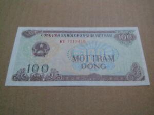 100 dong vietnam banknote unc