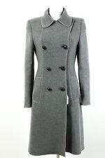 Sportmax Mantel Gr. 38 Wolle-Angora Übergangsmantel Wollmantel Coat