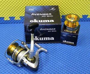 "Okuma Avenger /""b/"" Series Spinning Reel AV-80b"