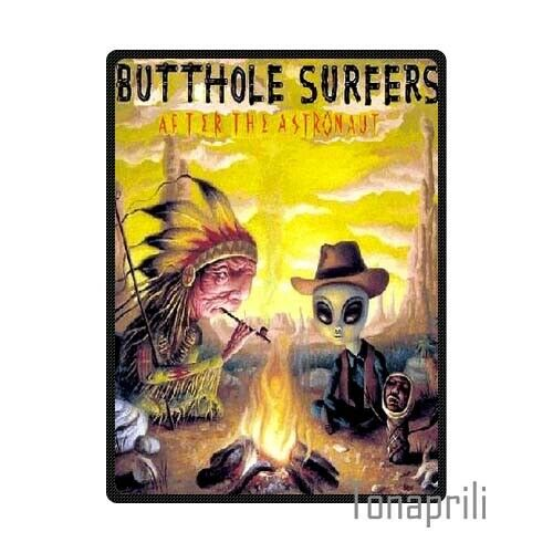 Butthole Surfers After The Astronaut Rock Band Fleece Throw Blanket 58 x 80 inch