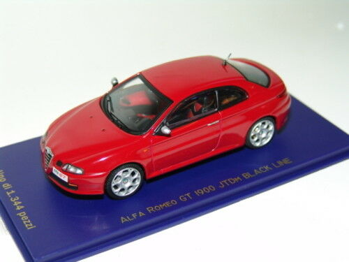 LA ALFA ROMEO GT 1900 JTDM JTDM JTDM negroLINE rojo  1 43 M4 11a457