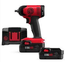 """New ! 20V Chicago Pneumatic 3/8"""" Cordless Impact Wrench Kit - CP 8828K"""