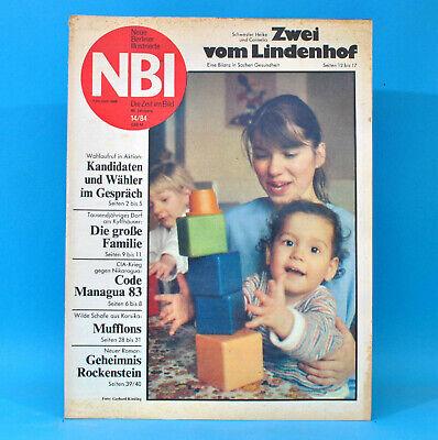 Ddr Nbi 14 1984 Ringleben Welzow-süd Reinhard Lakomy Eisenhüttenstadt Kvalfoss H Taille Und Sehnen StäRken