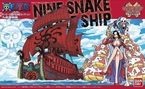 BANDAI ONE PIECE MODEL KIT GRAND SHIP COLLECTION NINE SNAKE PIRATE SHIP NEW