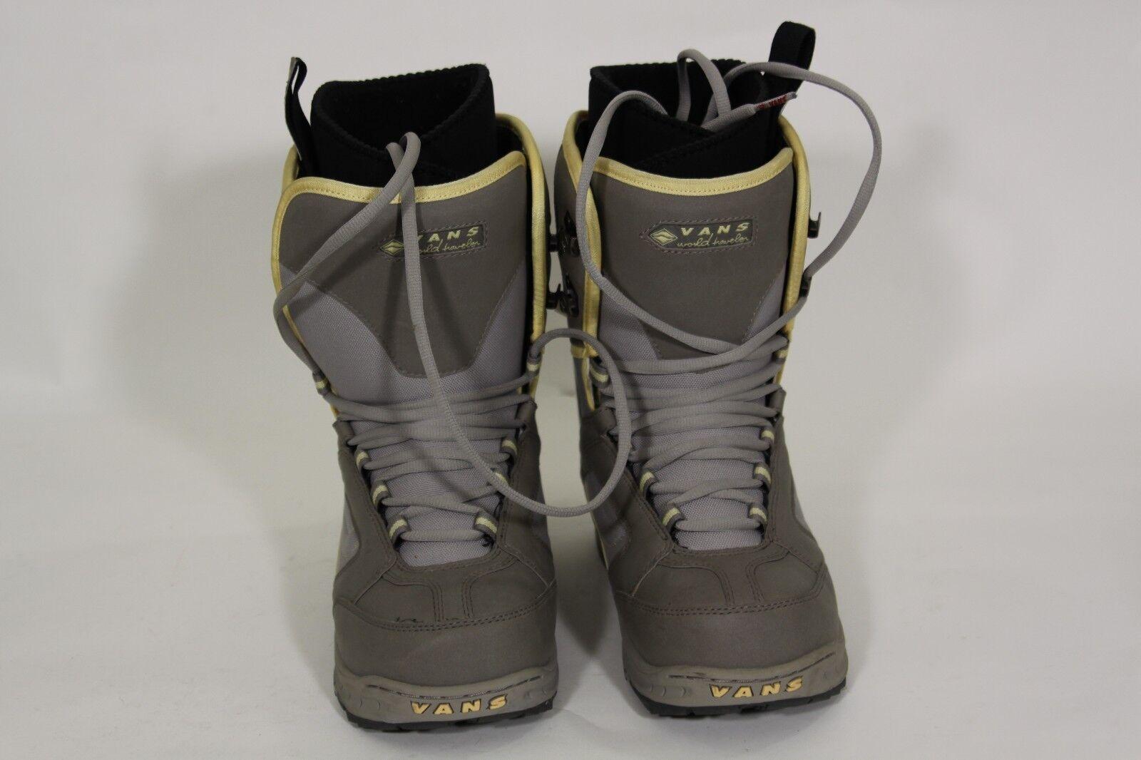 Vans Womens Mantra's Snowboard Boots US 7.5  Tan SB2