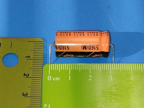 50V Axial Sprague 516D477M050PR6C 20Pcs Capacitor Electrolytic 470uF 470mF
