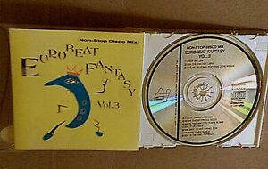 Details about Eurobeat Fantasy Vol 3 Non-Stop Disco Mix Japan CD OOP 80s  dance
