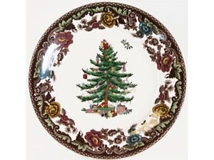 Spode Christmas Tree Grove Bread and butter plate | eBay