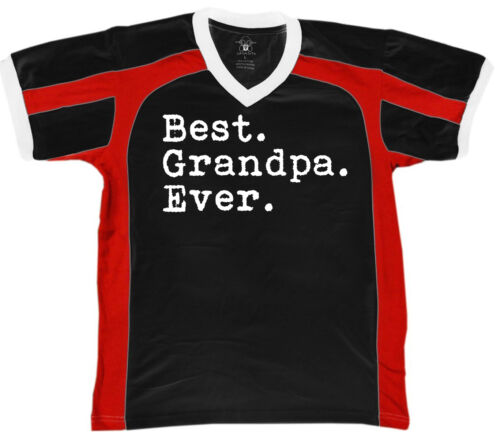 Father/'s Day Gramps Grandfather Pop Men/'s V-Neck Sport Tee Grandpa Ever Best