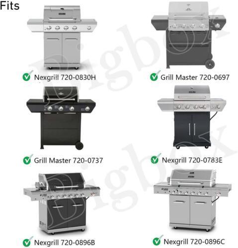 4 Pcs Flame Tamers for Grill Master Grillmaster 720-0697 Nexgrill 720-0783E 72