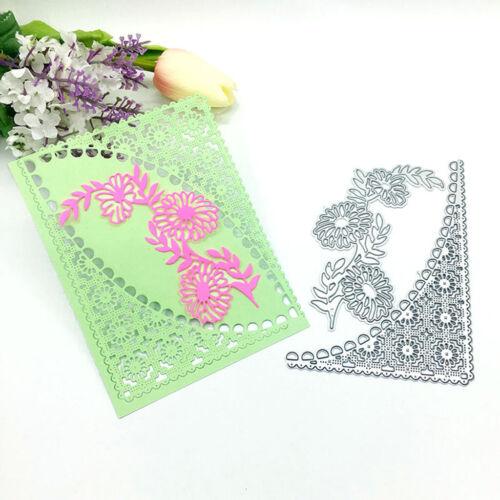 Flower Lace DIY Metal Cutting Dies Stencil Scrapbooking Photo Album Stamp Crafts