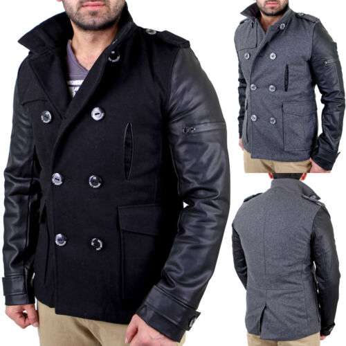 Mantel Kurz Trenchcoat Material Neu Rb mix Parka Herren Redbridge 41485 Jacke fwY0n