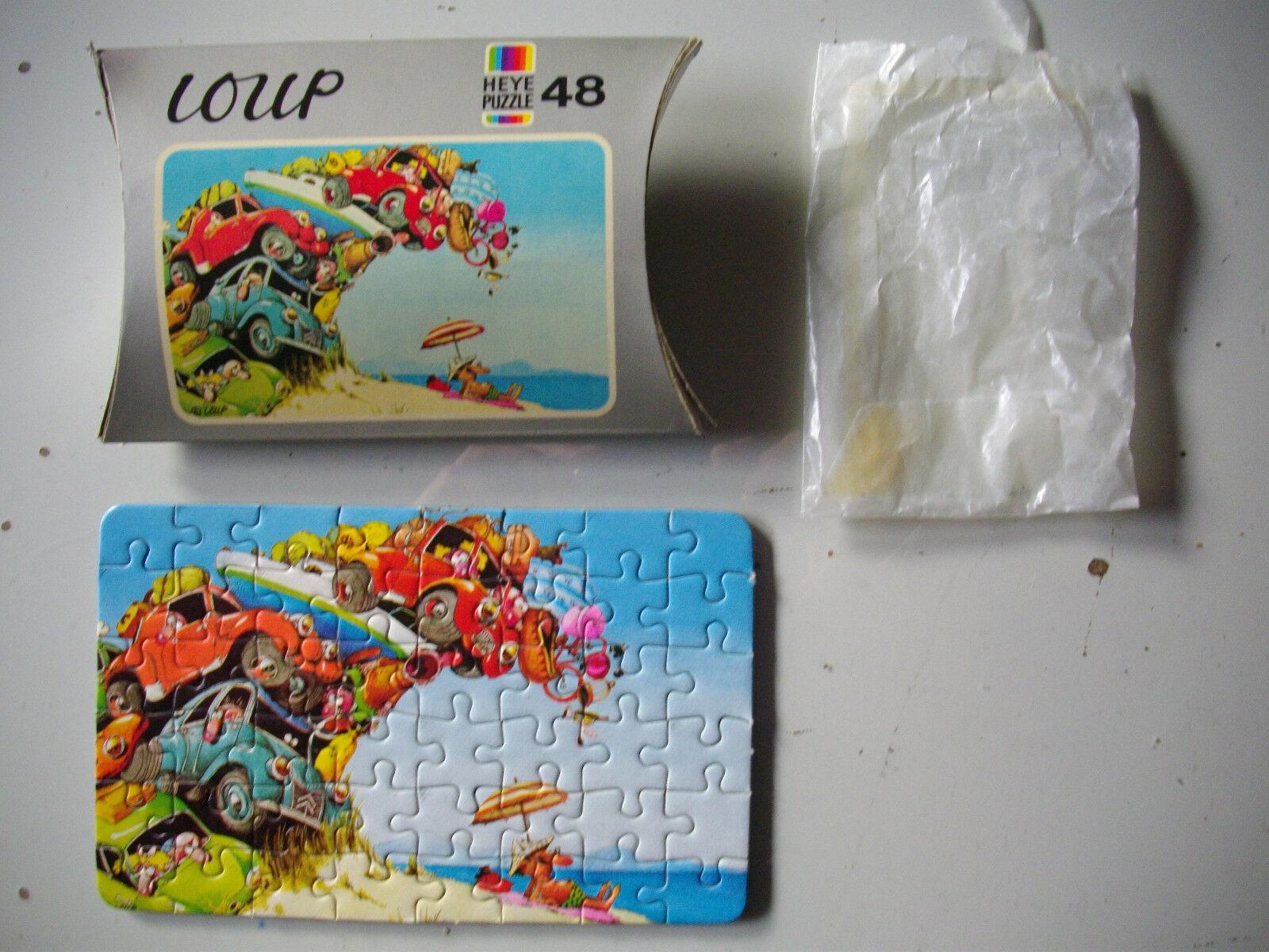 MINIPUZZLE  - HEYE PUZZLE (48 T.]) LOUP von 1978