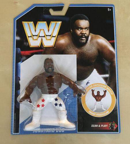 WWF WWE Rétro série Junk Yard Dog jyd WRESTLING FIGURE NEW MOC HASBRO MATTEL