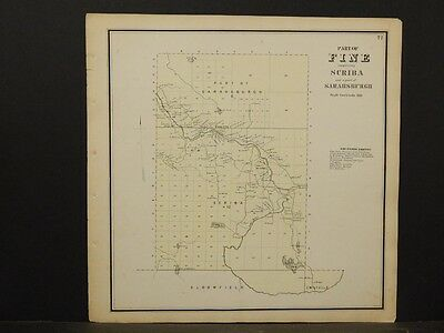 Lawrence County Map Fine Township 1865 Y5#46 Suitable For Men And Women Of All Ages In All Seasons St Objective New York