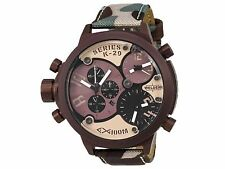 Welder by U-Boat Triple Time Zone Chronograph Camouflage Men's Watch K29-8005