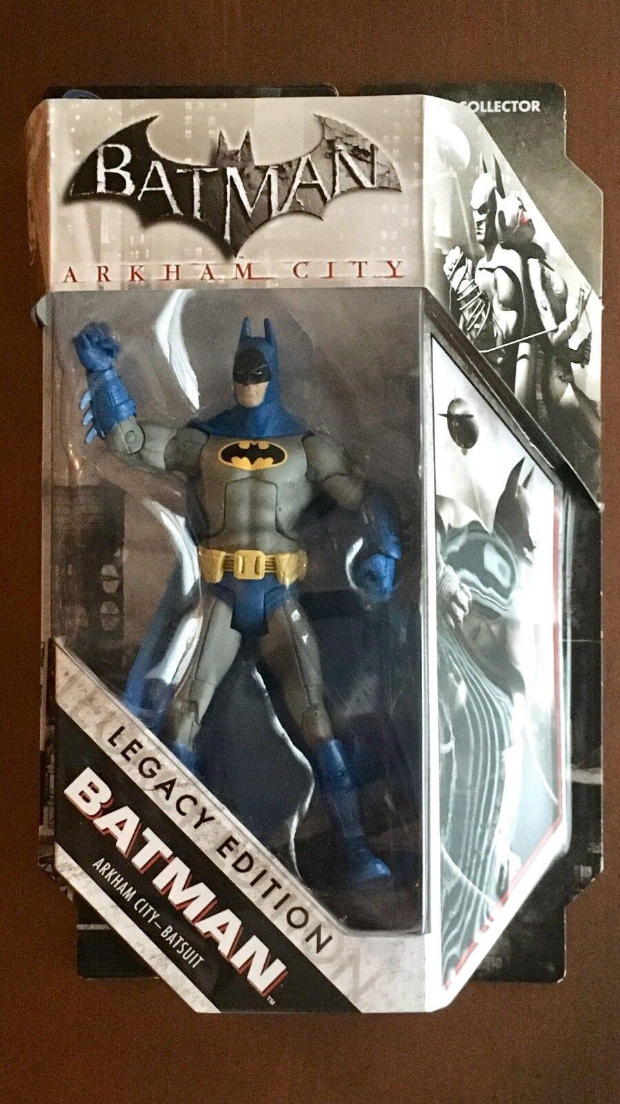 BRAND NEW DC Universe Batman Legacy Edition Batman Arkham City Batsuit Mattel