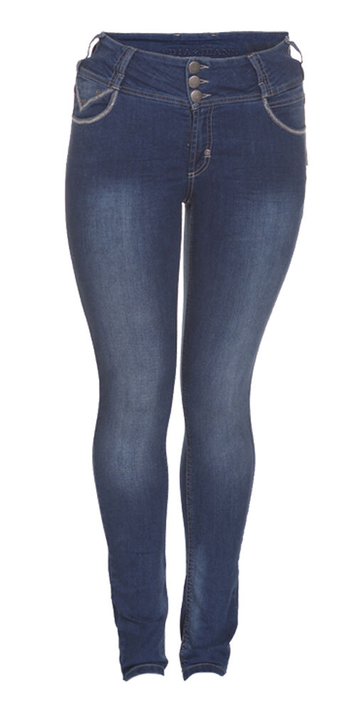 ADIA SLIM FIT JEANS HOSE ROME GR.52 EXTRA LANG WASH OUT LOOK BLAU