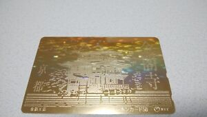 KYOTO-JAPAN-KINKAKUJI-famous-temple-Japan-prepaid-telephone-card