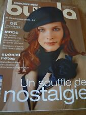 MAGAZINE BURDA  SO BRITISH LES TARTANS CHIC SOUFFLE DE NOSTALGIE  2005 N°70
