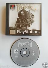 RAILROAD TYCOON II (2) for Playstation 1 PS1 -  PAL