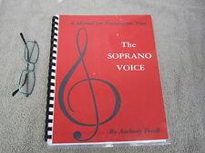 Soprano Voice Training Author Signed Classic Anthony Frisell Music Singing 2006