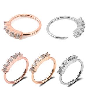 1PC-Surgical-Steel-Nose-Ring-Crystal-Rhinestone-Bone-Stud-Body-Piercing-Jewelry
