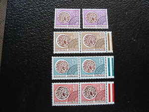 FRANCE-timbre-yvert-et-tellier-preoblitere-n-130-a-133-x2-n-A19-french