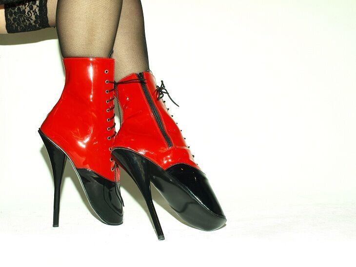 High heels,  ballet  latex gummi  heels,  producer POLAND  -heels 21cm-grobe 37-47 b9ed86