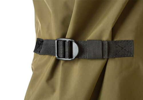 Trakker N2 poitrine waders nylon imperméable PVC Pêche Wader Neuf Toutes Tailles *