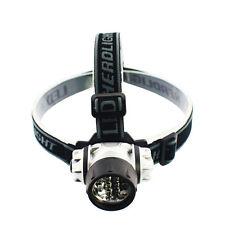 Headband Flashlight Head Lamp For Hiking Camping Adjustable Fishing Headlight