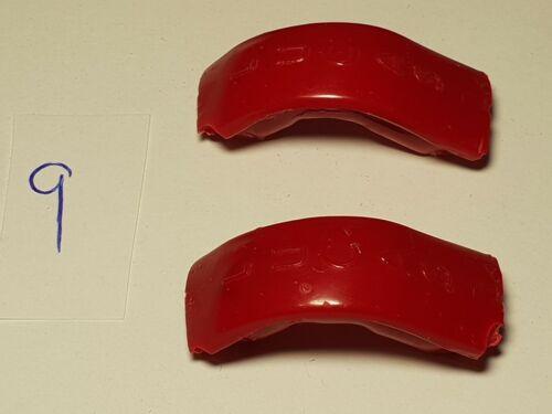 D-GRADE red LUCAS SE100 tag badge landrover trafficator semaphore SE62 sf80