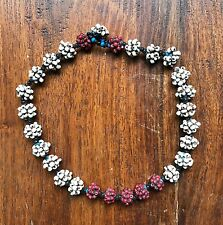 ANTIQUE AFRICAN BEADED CHILDS NECKLACE