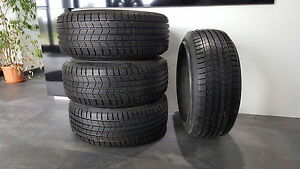 4x-235-690-r500-A-102H-Michelin-Pilot-Alpin-Pax-DOT-2011-235-690-Winter-Reifen