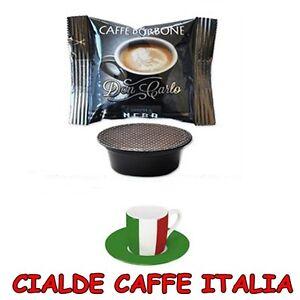 100-Capsule-Caffe-Borbone-Miscela-Nera-Nere-Compatibili-Lavazza-a-Modo-Mio