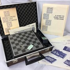 Morphy Encore 1981 Vintage Chess Electronic Computer By Applied Concepts + Case