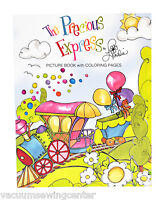 The Precious Express Picture Book With Coloring Pages