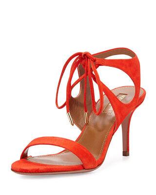 Clothing, Shoes, Accessories Self-Conscious Bnib Aquazzura Sandal Heel 7.5 Cm Size 8 B