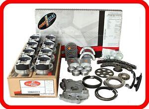 2005-2009 Toyota 4.7L DOHC V8 2UZFE Tundra Sequoia Land Cruiser 4Runner ReRing Kit w//Full Gasket Set Rings Bearings FITS