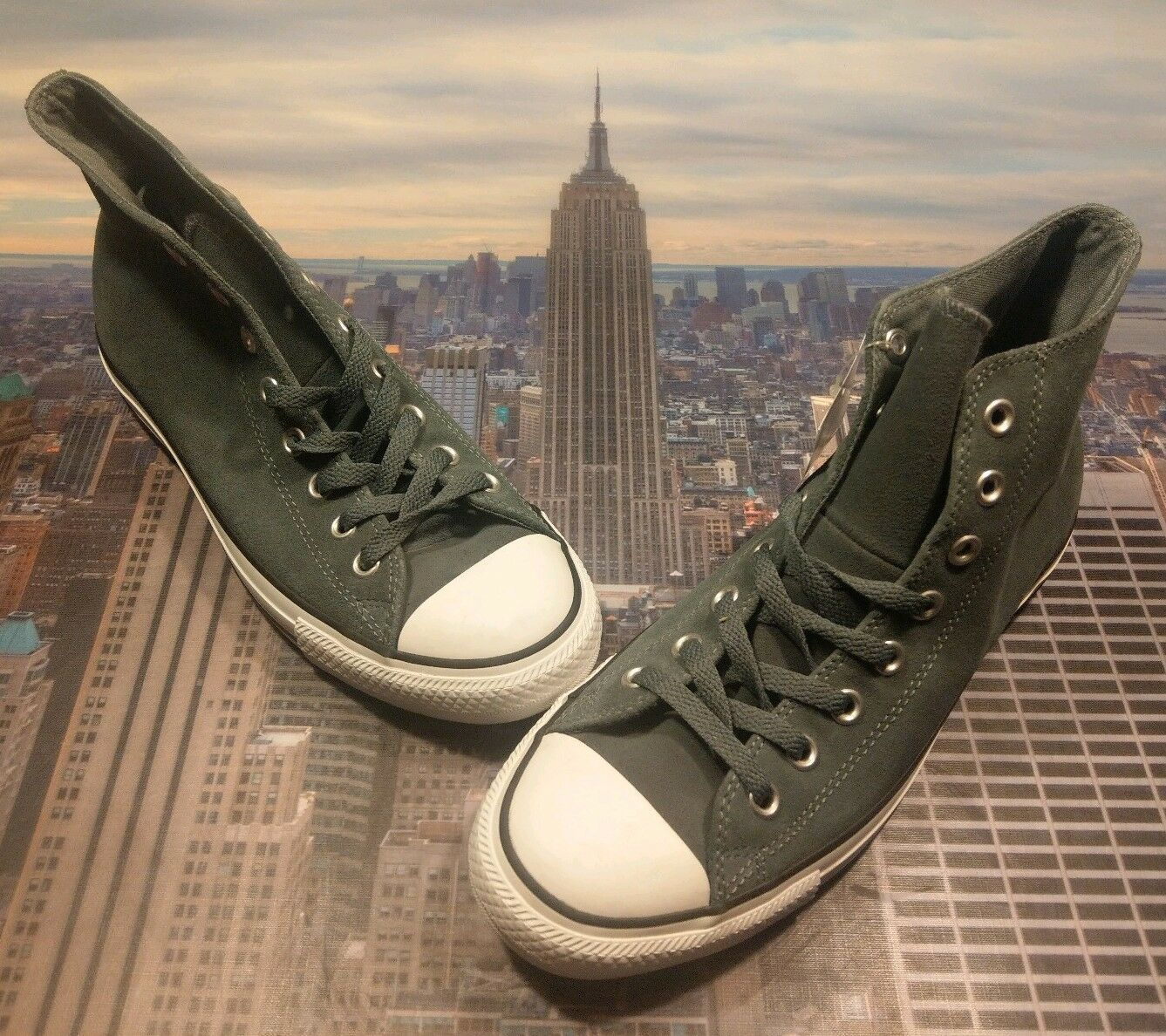 Converse CT Chuck Taylor All Star Hi High Top Suede Admiral  Gris