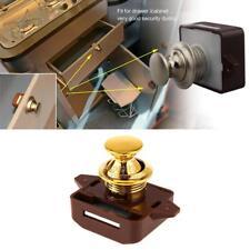 Push Button Catch Lock Cupboard Door Knob Motorhome RV Cabinet Caravan Boat Van