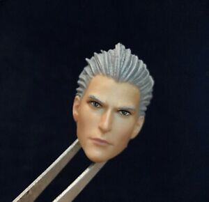 Unpainted Head Carving 1//6 Virgil Head Model Head Carving F 12/'/' Figure Body