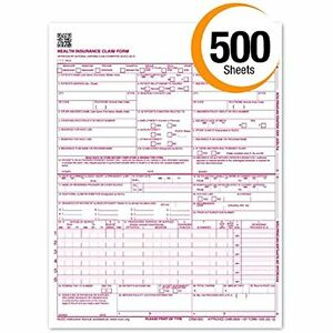Medical & Insurance Forms CMS 1500 Claim